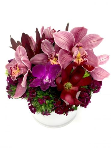 Burgundy Burgeon Bouquet