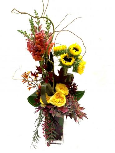Blissful Fall Bouquet