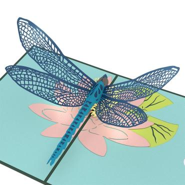 Dragonfly - LovePop Card