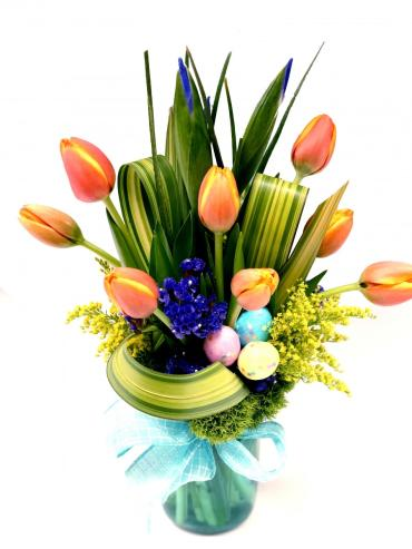 Aqua Easter Bouquet