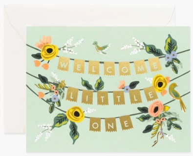 Welcome Garland Card