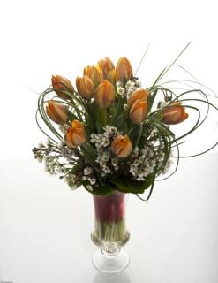 Autumn Tulips Bouquet