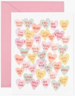 Valentine Sweetheart Card