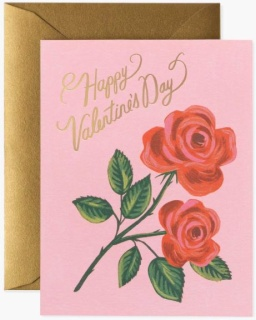 Roses Are Red Valentine\'s Day Card