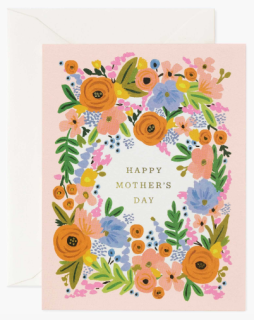 Floral Mother\'s Day Card