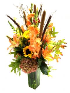 Orange Eclipse Bouquet