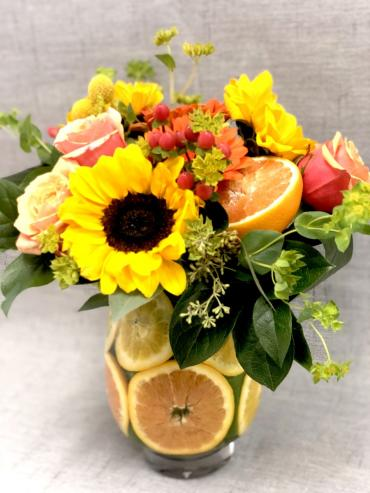 Citrus Bounty Bouquet