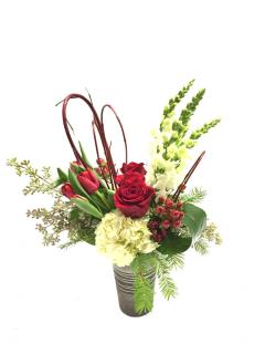 Red & White Melody Bouquet