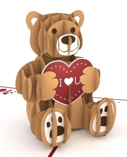 Love Bear LovePopCard