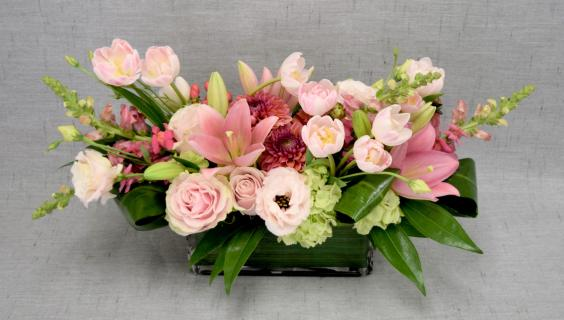Sweet Pink Garden Bouquet
