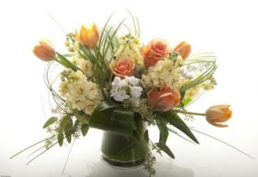 Peaches N\' Cream Bouquet