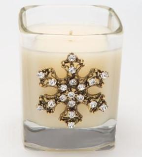 Lux - Snowflake Candle