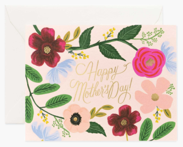 Wildflowers Mother\'s Day Card