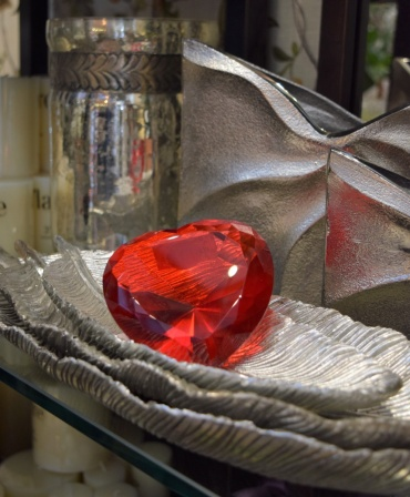 Glass Heart Diamond