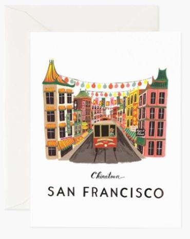 San Francisco Card