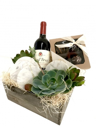 Red Wine Gourmet Box