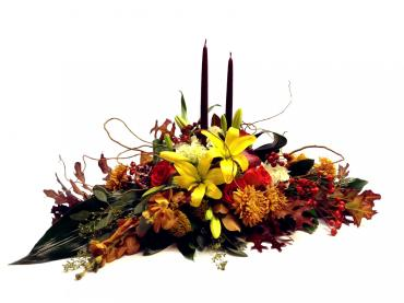 Fall Passion Centerpiece