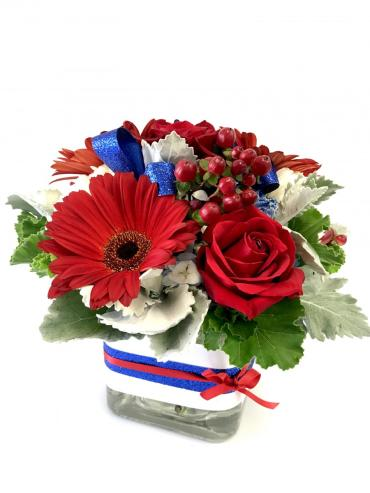 Red White & Bloom Bouquet