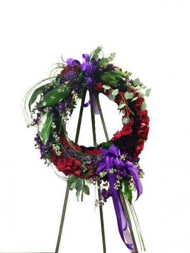 Lush Tribute Wreath